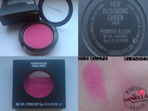 http://thisismed.blogg.se    M·A·C - A Tartan Tale 2010,   Her Blooming Cheek Blush [LE]