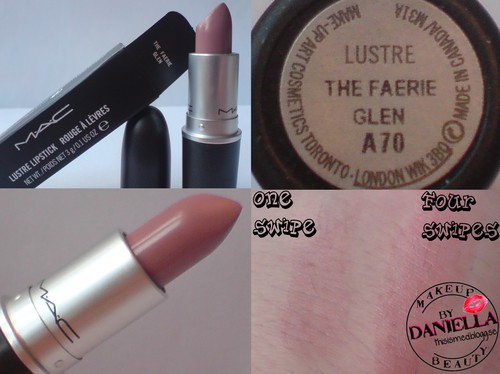http://thisismed.blogg.se    M·A·C - A Tartan Tale 2010   the faerie glen lipstick [LE]