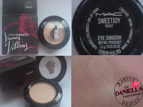 http://thisismed.blogg.se  Sweet Joy eyeshadow [LE; Venomous Villains; Cruella De Vil Collection]