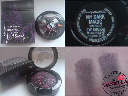 http://thisismed.blogg.se  My Dark Magic Mineralize eyeshadow [LE; Venomous Villains; Maleficent Collection]
