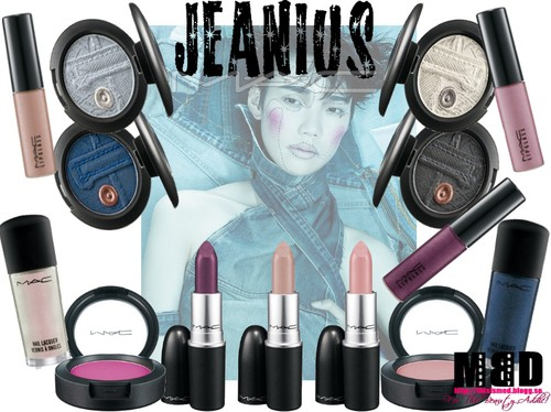 http://thisismed.blogg.se    MAC Jeanius Collection 2011