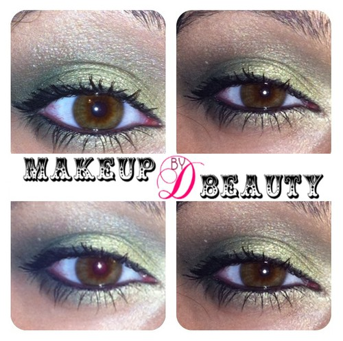 © Makeup & Beauty by Daniella  http://thisismed.blogg.se    M·A·C Valiant Green