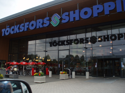 Töcksfors Shoppingcenter!