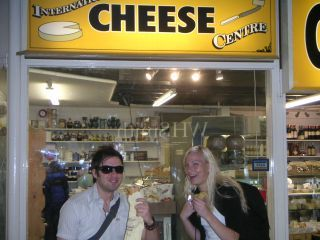 International Cheese?