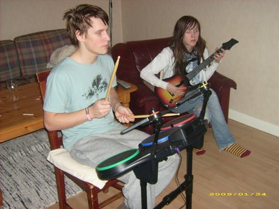 Guitar Hero World Tour-spelare