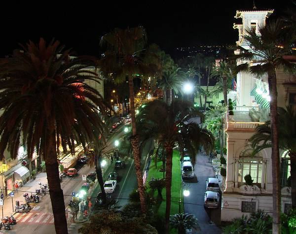 San Remo casino by night