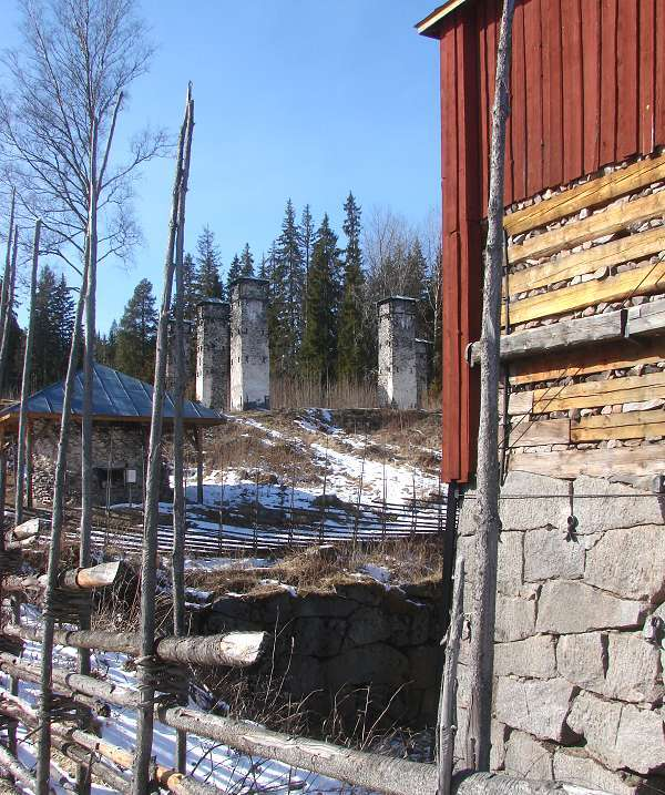 Main smelting house