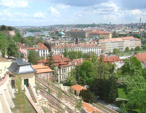 View from Prague Castle Hill