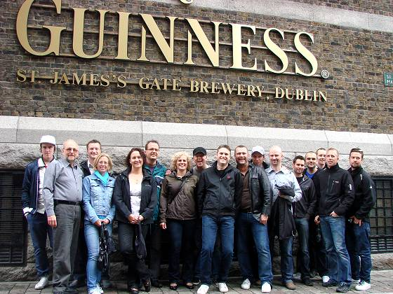At guinness Storage, Dublin