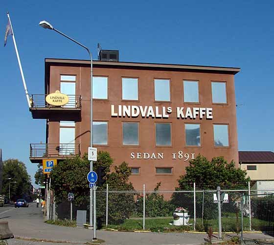 Lindvall coffee rostery