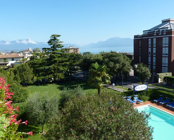 Balcony view in Desenzano