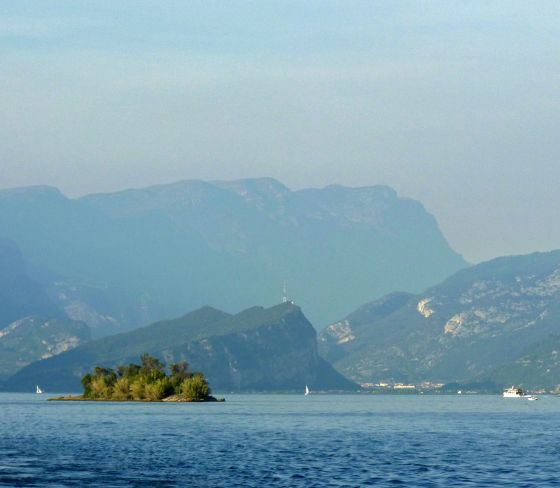 North end of Garda lake