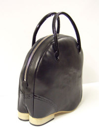 A'n'D Double shoe Brogue Zipper Bag