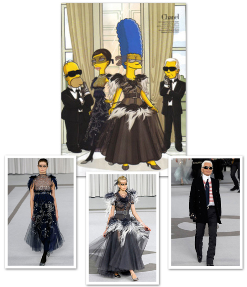 Simpsons in Paris, Chanel