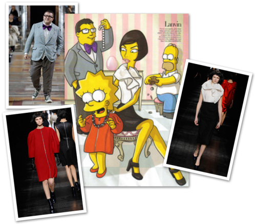 Simpsons in Paris, Lanvin