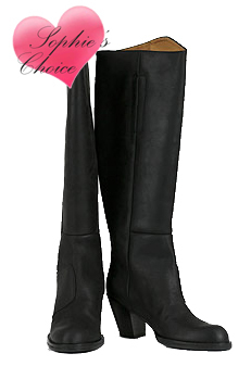 Sophie's Choice - Acne Pistol Boots