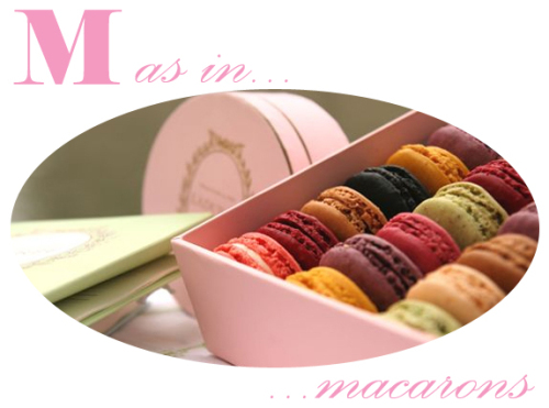 M as in macarons