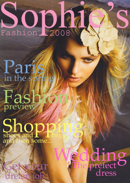 Sophie's Fashion 2008