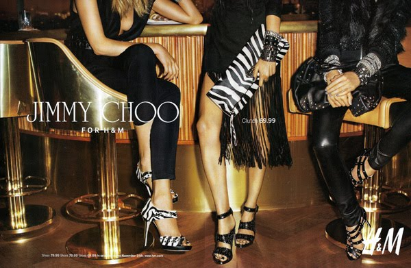 Terry Richardson for Jimmy Choo for HM 1