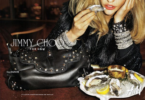 Terry Richardson for Jimmy Choo for HM 2