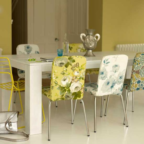 Bold florals - Living Etc May 2009
