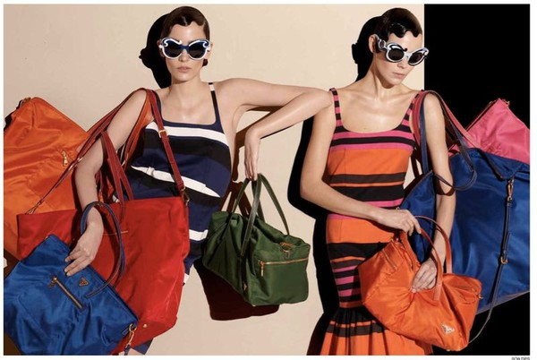 Steven Meisel for Prada Spring 2011 ad Campaign 1