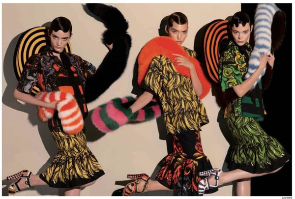 Steven Meisel for Prada Spring 2011 ad Campaign 3