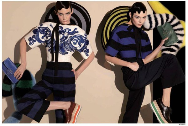 Steven Meisel for Prada Spring 2011 ad Campaign 4