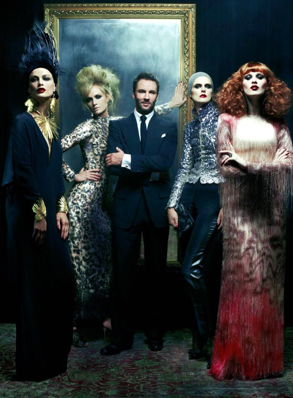 Steven Meisel for Vogue US Dec 2010 - Tom Ford ss 2011