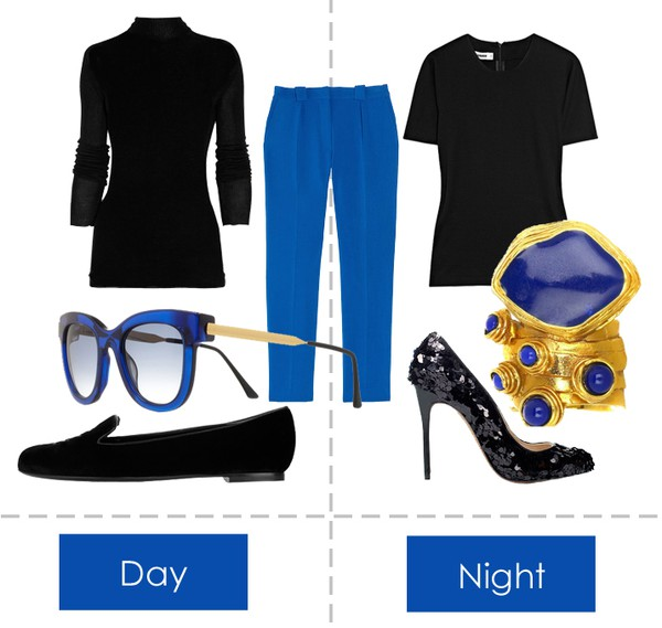 FF - Day and night - Black and blue