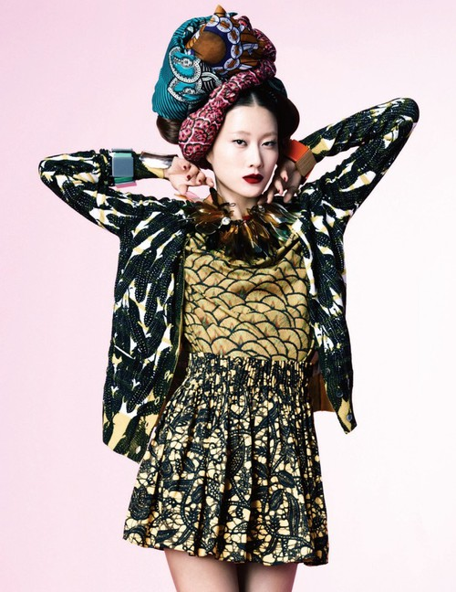Hong Jang Hyun for Harpers Bazaar Korea March 2012 - Print Extasy