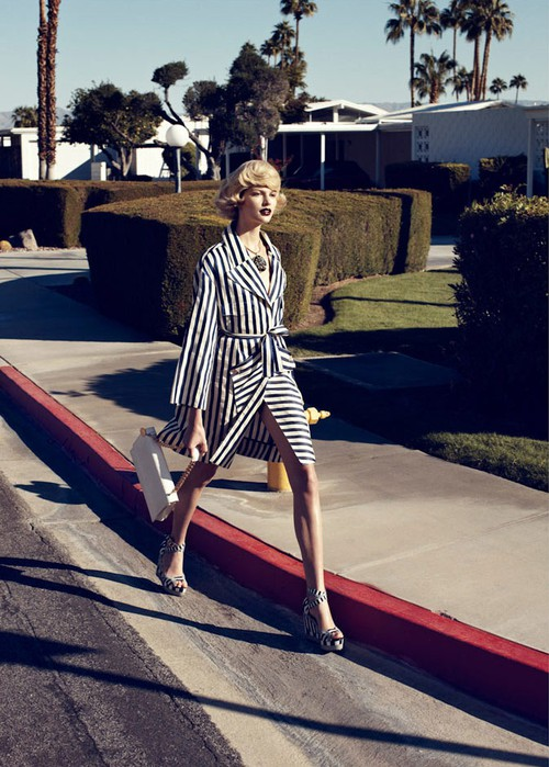 Lachlan Bailey for Harper's Bazaar US February 2012 - Palm Springs 7