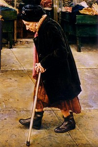 Bernard Safran - Old Lady