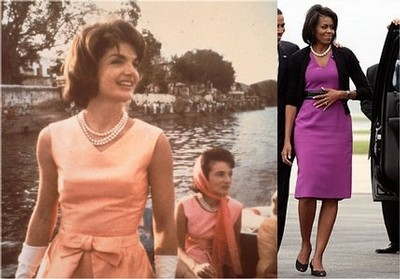 Michelle Obama och Jackie Kennedy