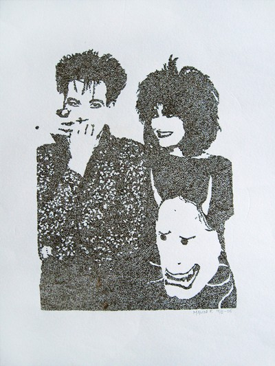 Siouxsie Sioux och Robert Smith.