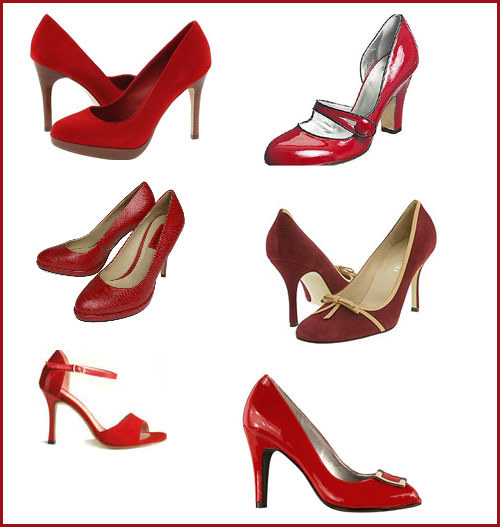 shoes-red