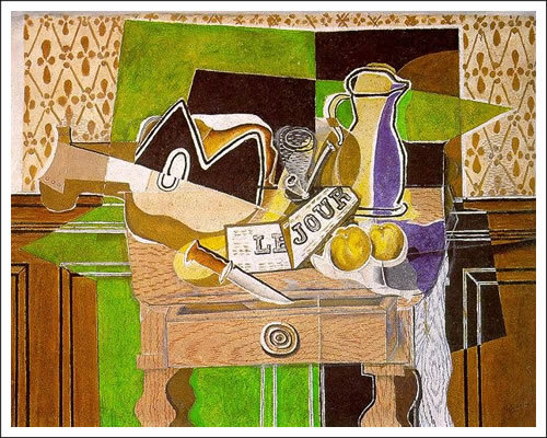Braque : Still Life with Le Jour
