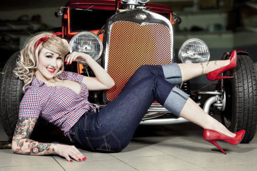 pin girls and cars - photo #27