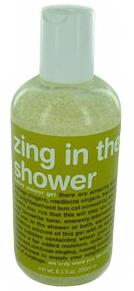 zing in the shower