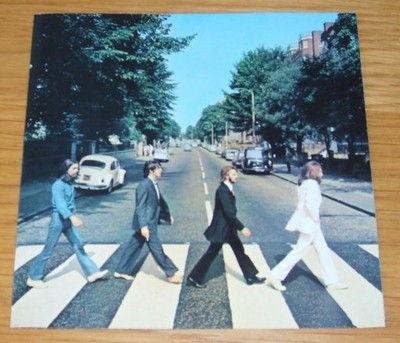 Omslaget till Beatles LP Abbey Road från 1969