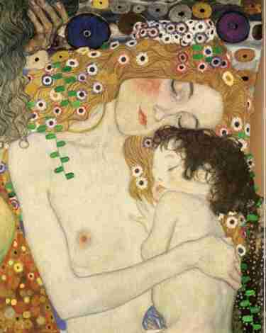 mother & child/klimt