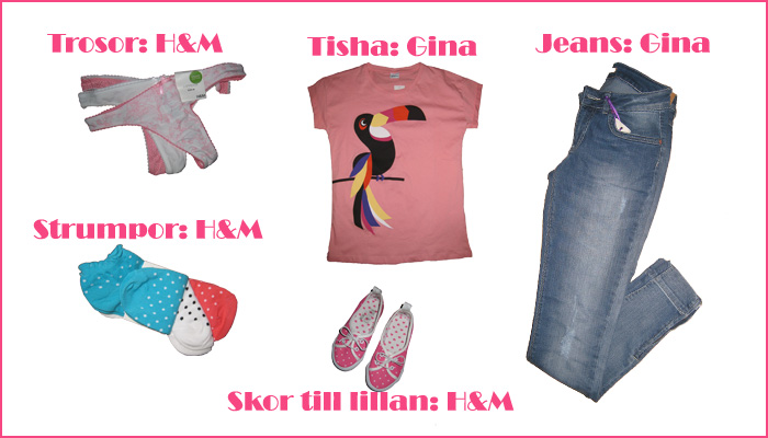 Shopping Gina tricot H&M