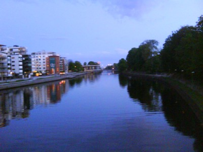 halmstad by night
