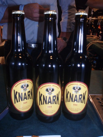 Knark på International Beer Festial i Köpenhamn