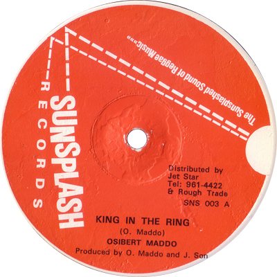 Osibert Maddo - King In The Ring