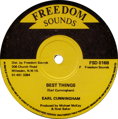 Earl Cunningham - Best Things