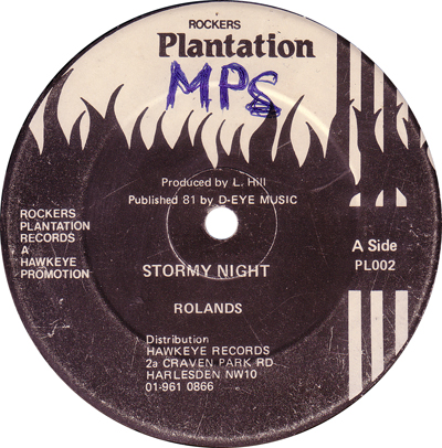 Rolands - Stormy Night