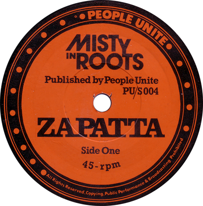 Misty In Roots - Zapatta