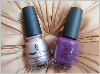 China Glaze - Magical & O.P.I - Can you dig it!