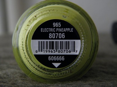 China Glaze - Electric Pineapple